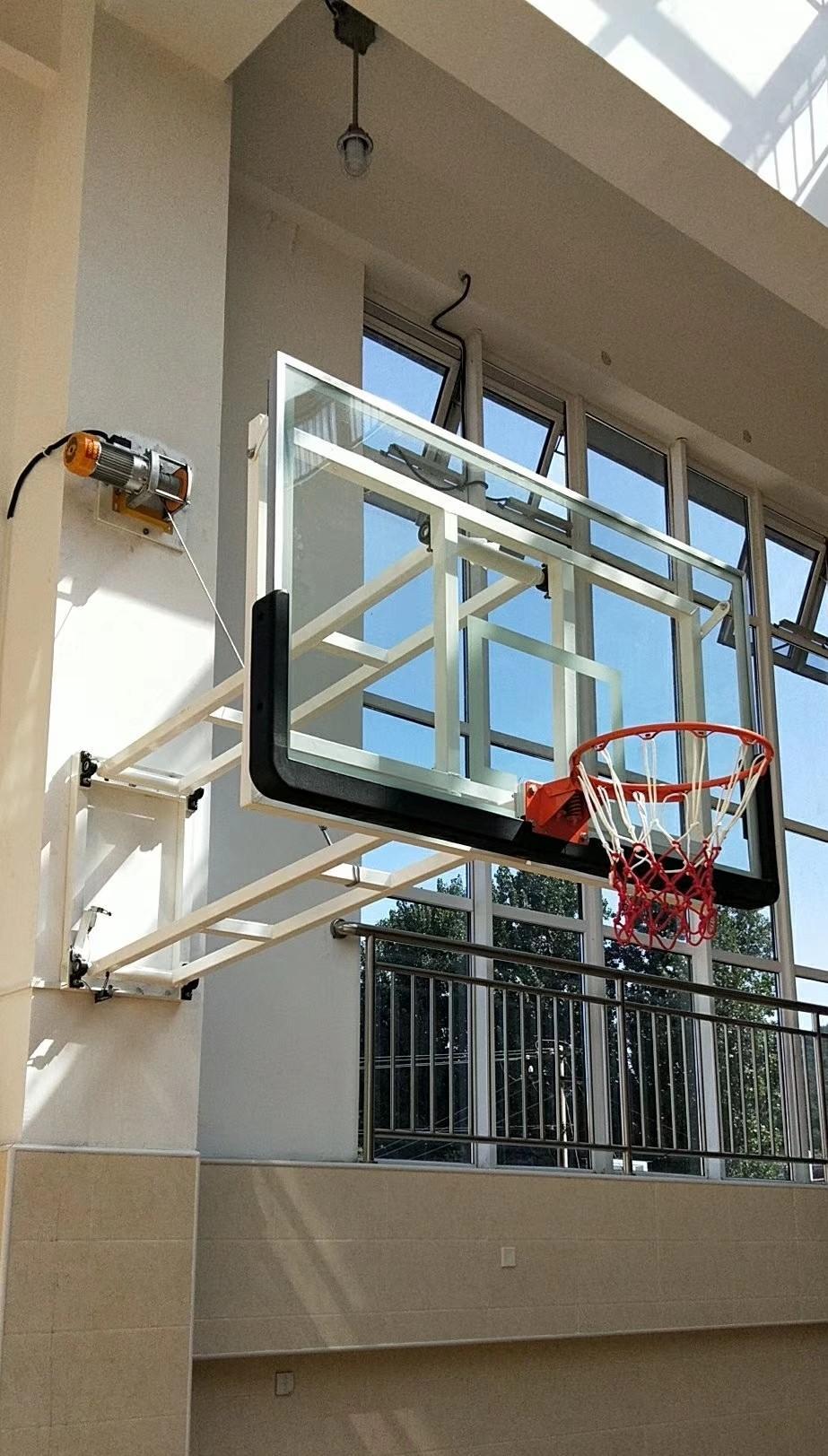 电动篮球架2